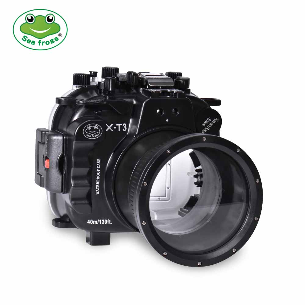 Fujifilm X-T3 40M/130FT Underwater camera housing(Black)